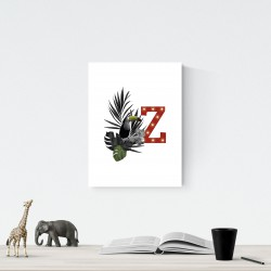 Z - LED letter Tucan, 30×40×4 cm, red